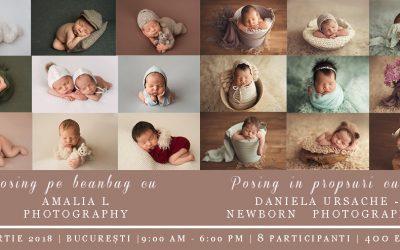 "Workshop de fotografie ""Newborn as art"""