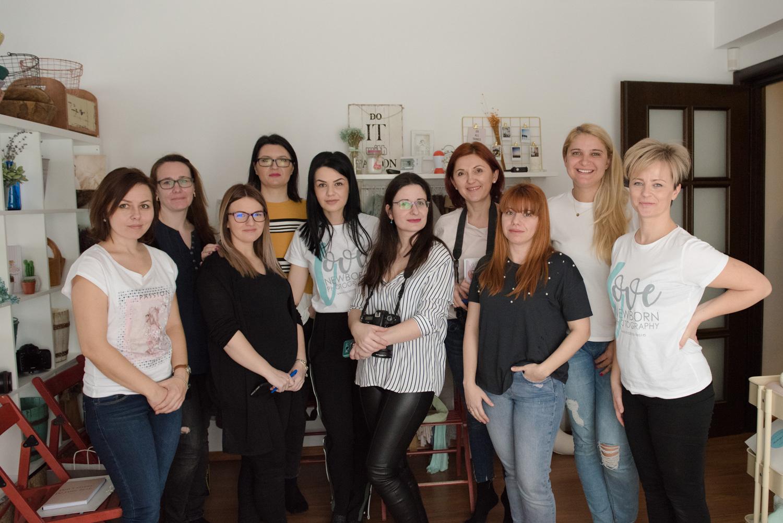 Workshop fotografie de nou nascut cu Daniela Ursache