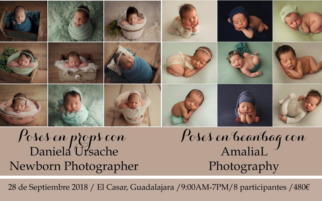 Workshop de fotografie de nou-născuți la Madrid