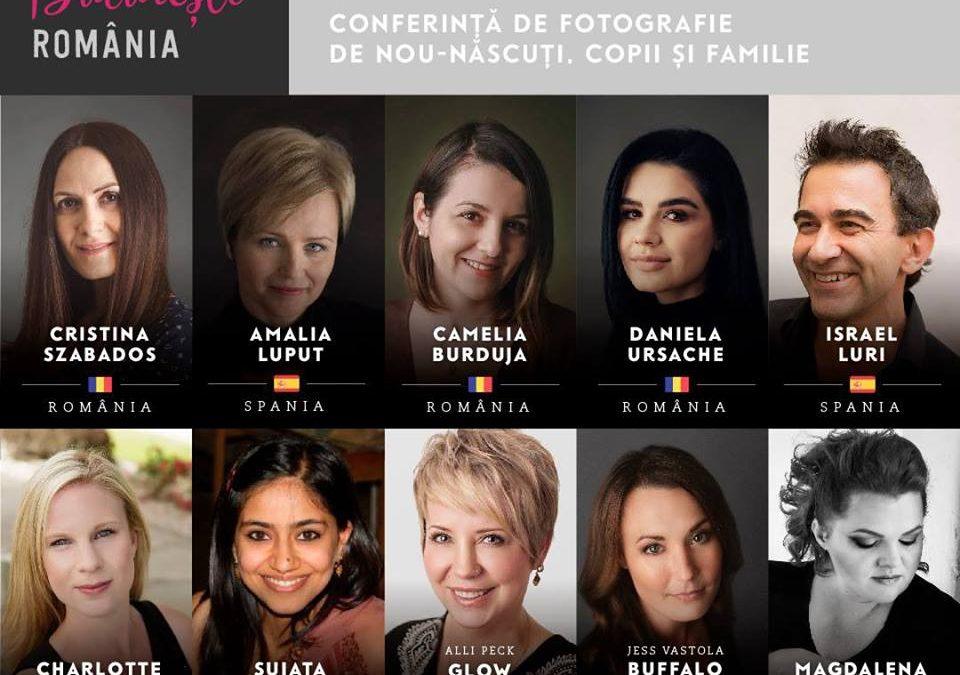 Prima conferință internațională de fotografie de nou-născut, copii și familie din România