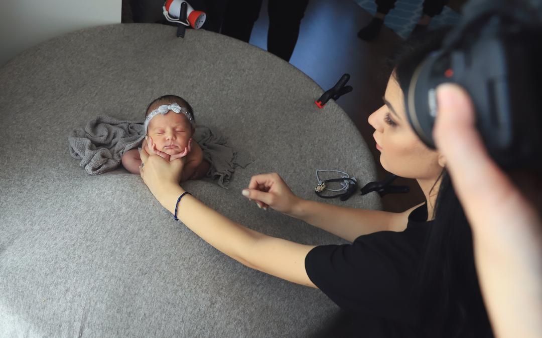 Atelier de fotografie newborn București – O nouă întâlnire cu oameni talentați