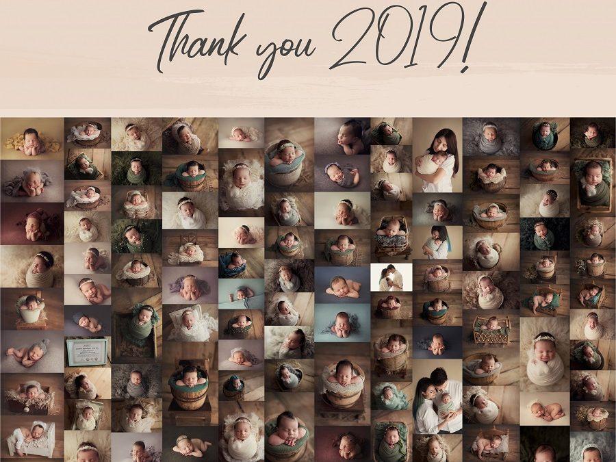 Încă un an de fotografie newborn. Cele mai importante momente din 2019