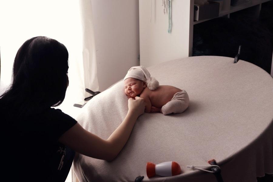 fotograf nou-născut