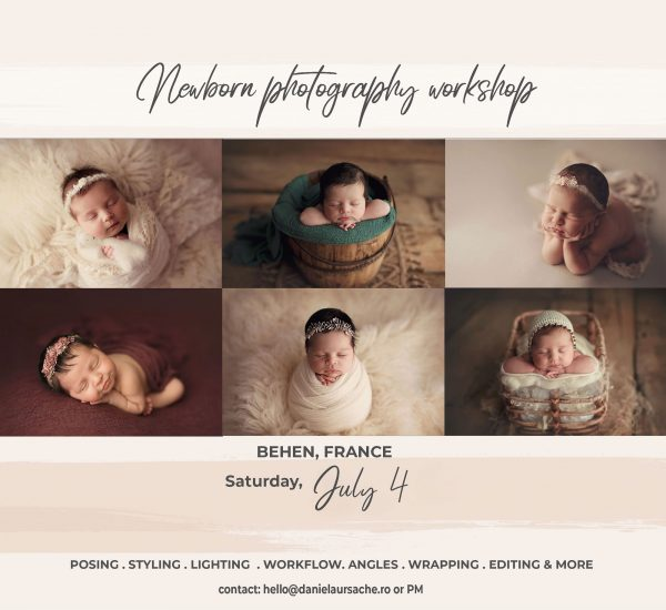 Newborn Workshop France | Daniela Ursache