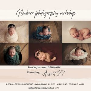 Newborn Workshop Barsinghausen Germany | Daniela Ursache