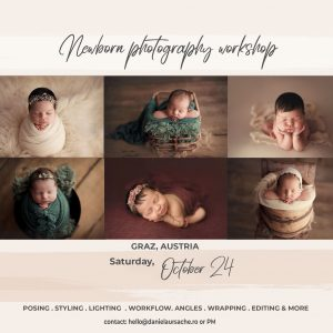 Newborn Workshop Austria | Daniela Ursache