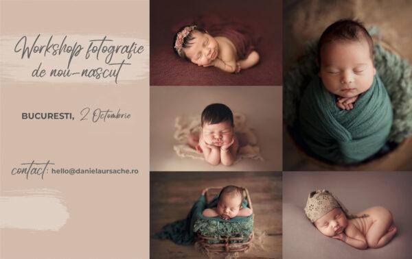Newborn Workshop Bucureşti | Daniela Ursache