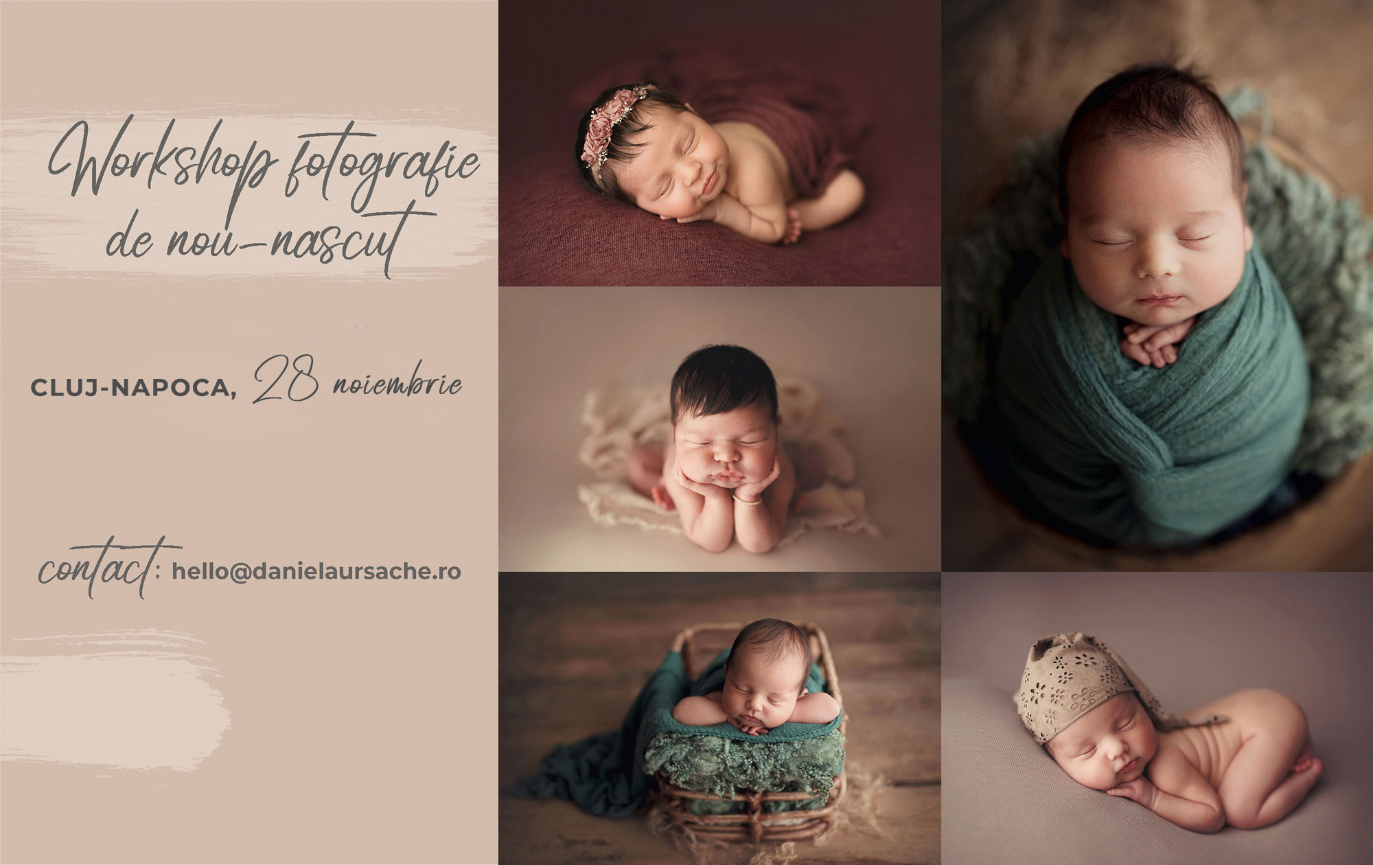 Newborn Workshop Cluj-Napoca   Daniela Ursache
