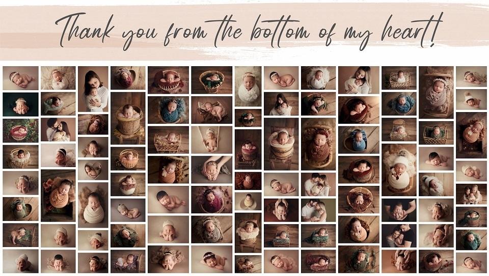 Despre recunoștință, oameni și fotografie newborn prin filtrul anului 2020